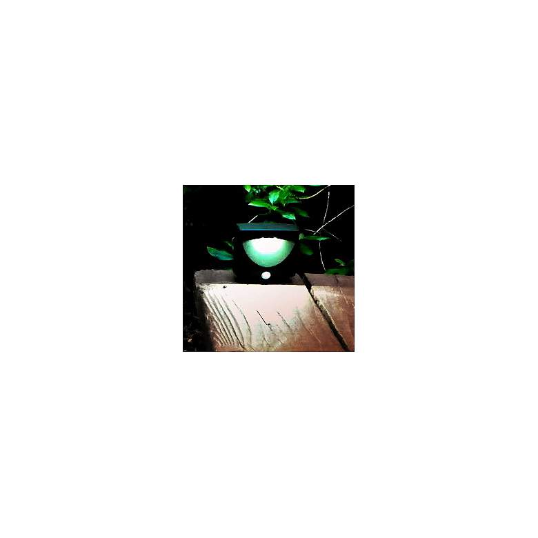 Bronze Battery Powered 3-Light LED Outdoor Night Light more views