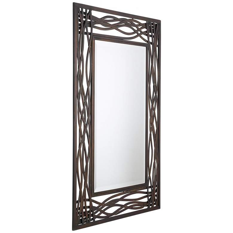 "Uttermost Dorigrass Mocha Brown 32"" x 42"" Wall Mirror more views"