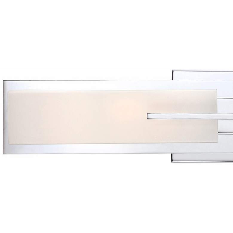 "Possini Euro Design Midtown 23 1/2"" High Chrome Bath Light more views"