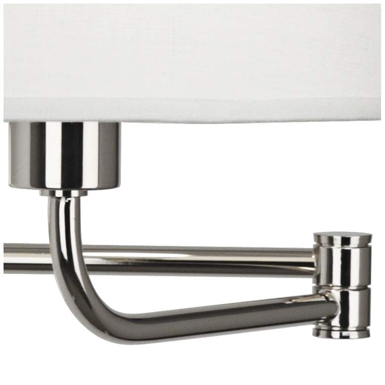 Robert Abbey Koleman Polished Nickel Plug-In Swing Arm Lamp more views