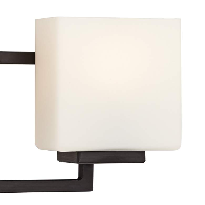 "Lighting on the Square 21"" Wide Bronze Bath Wall Light more views"