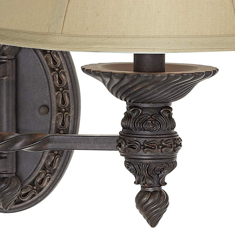 Godia Bronze Oval Plug-In Swing Arm Wall Lamp more views