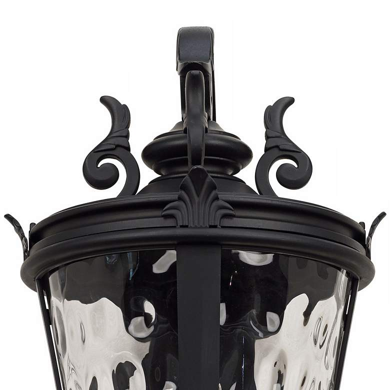 "Casa Marseille Black 36"" High Large Outdoor Wall Light more views"