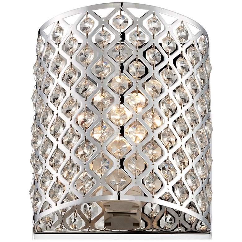 "Possini Euro Design Glitz 8 1/2"" High Pocket Wall Sconce more views"