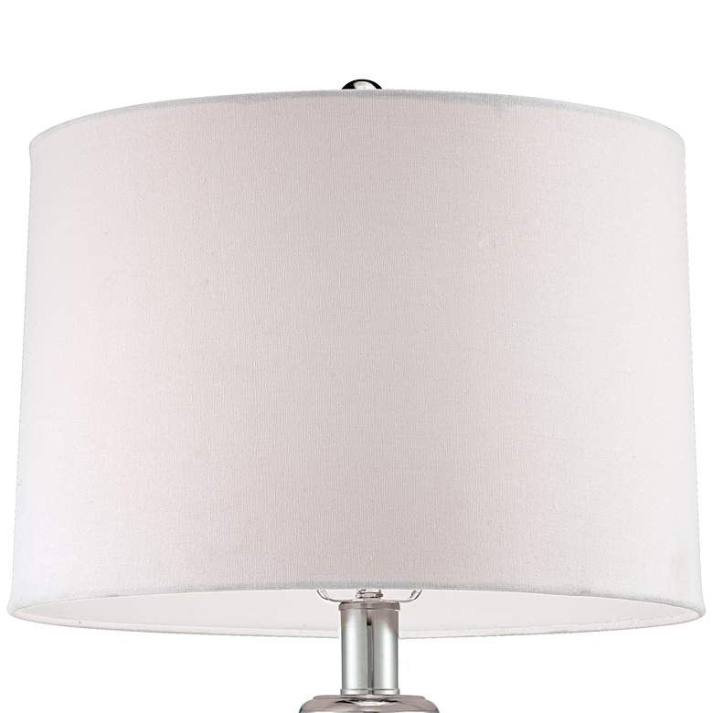 Possini Euro Design Beaded Table Lamp with White Shade more views