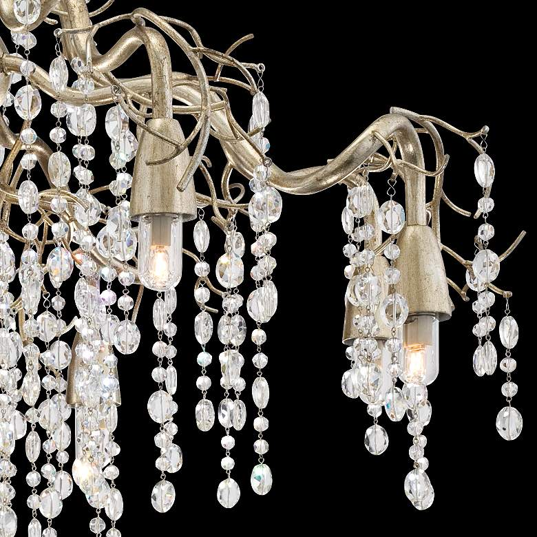 "Possini Euro Branches 31"" Wide Silver Champagne Chandelier more views"