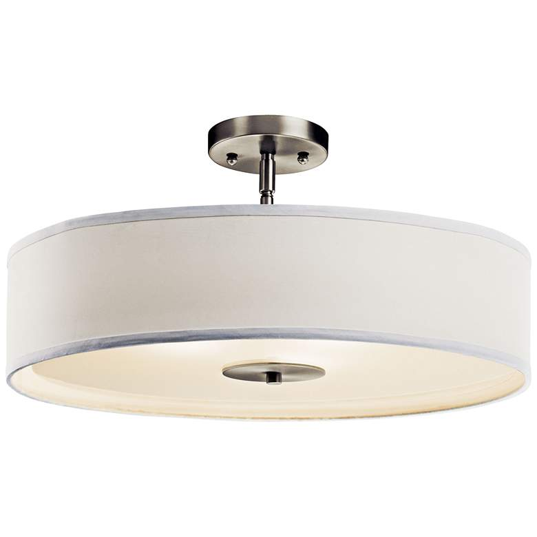 "Kichler 20"" Wide Brushed Nickel Pendant/Ceiling Light more views"