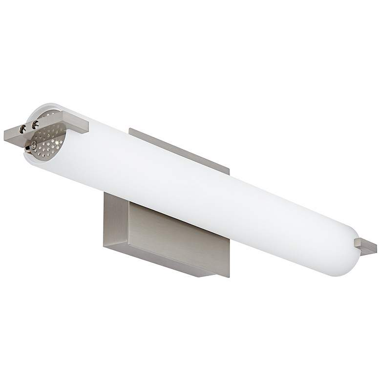 "George Kovacs 20 1/2"" Wide Nickel LED Bath Light more views"