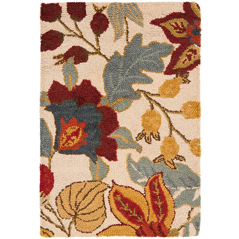 Safavieh Blossom BLM863B Collection 5'x8' Area Rug more views