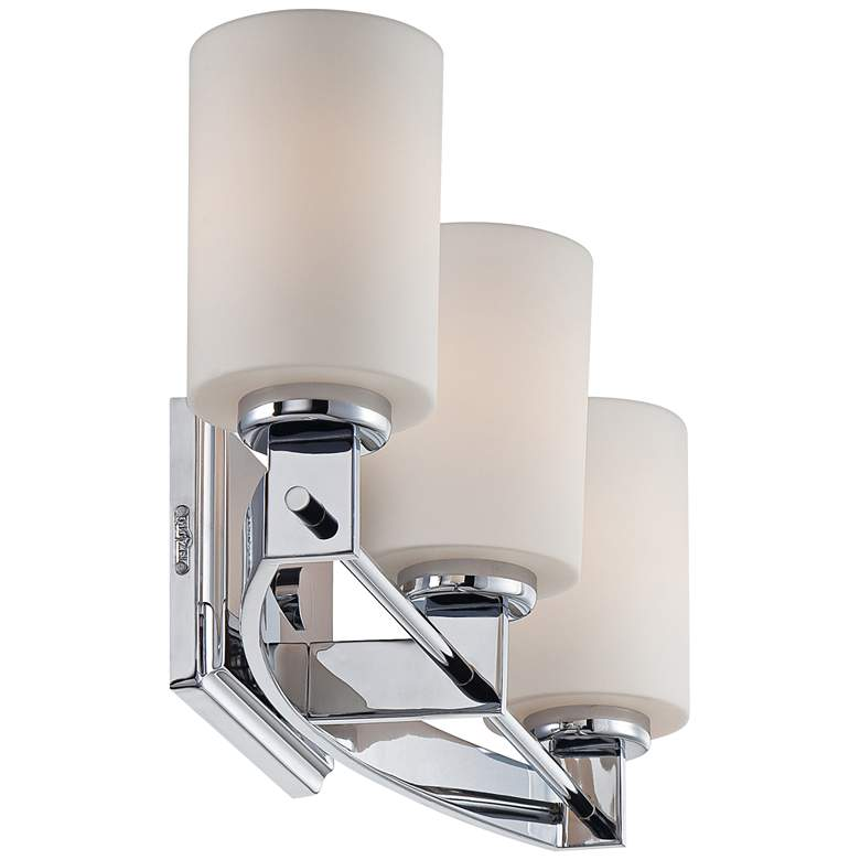 "Quoizel Taylor 21"" Wide Polished Chrome Bathroom Light more views"