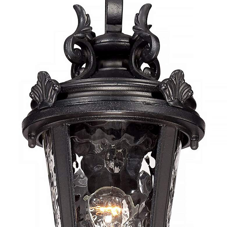 "Casa Marseille™ 19"" High Black Outdoor Wall Light more views"