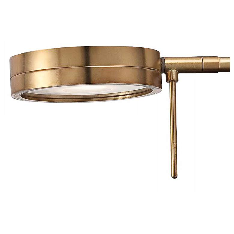 George Kovacs Honey Gold LED Swing Arm Wall Lamp more views