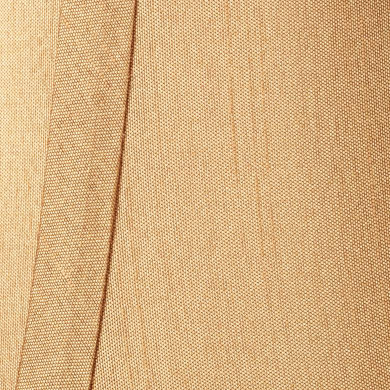 Springcrest™ Tan and Brown Lamp Shade 3x6x5 (Clip-On) more views