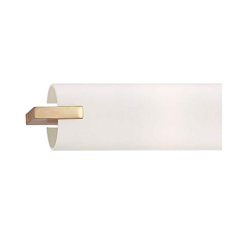 "George Kovacs Gold 20 1/2"" Wide Bathroom Vanity Light more views"