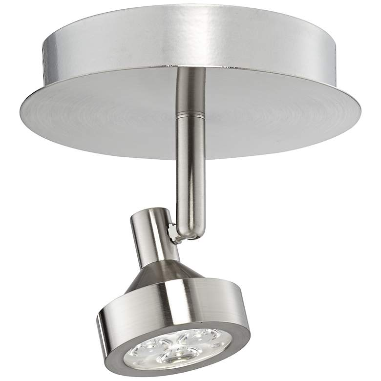 Pro Track® Tilden 1-Light Brushed Nickel LED Ceiling Light more views