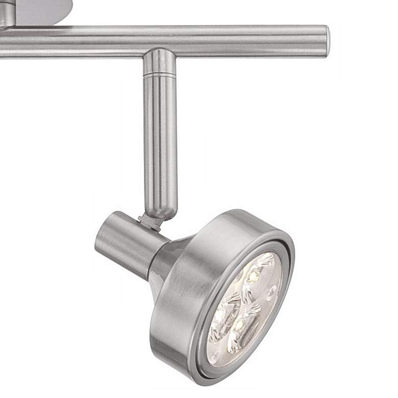 Tilden 2-Light Dimmable LED Brushed Nickel Track Fixture by Pro-Track more views