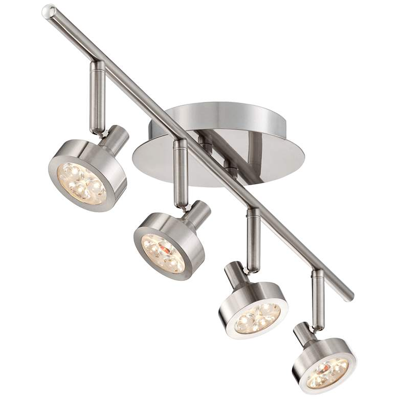 Pro Track® Tilden 4-Light Brushed Nickel LED Ceiling Light more views