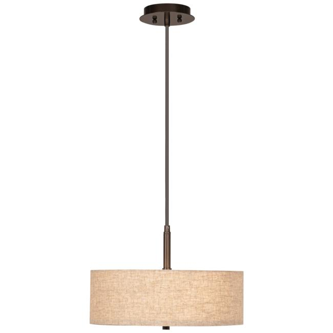 "Possini Euro Design Cream Drum 16"" W Pendant Light"