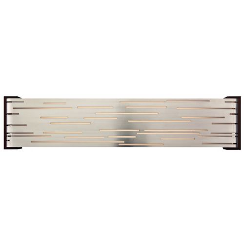 "Tech Lighting Revel 27"" Wide Satin Nickel LED Bath Light"