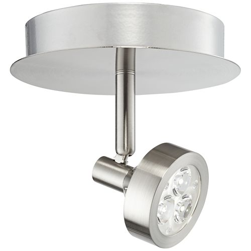 Pro Track® Tilden 1-Light Brushed Nickel LED Ceiling Light